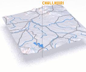 3d view of Challhuiri