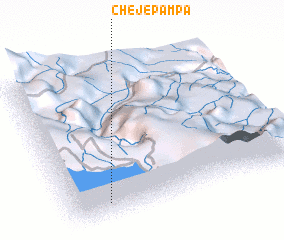 3d view of Chejepampa