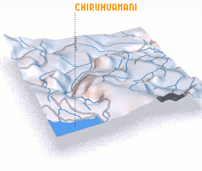 3d view of Chiruhuamani