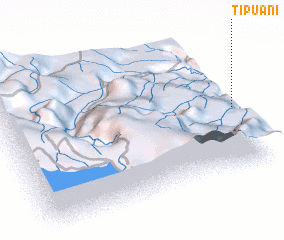 3d view of Tipuani
