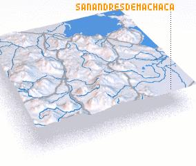 3d view of San Andrés de Machaca