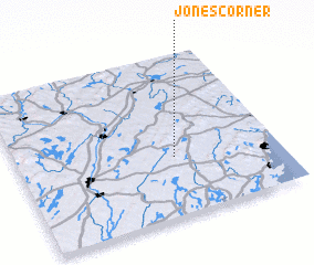 3d view of Jones Corner