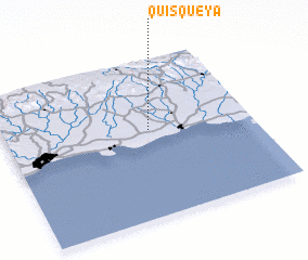 3d view of Quisqueya