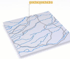 3d view of Quenequenero