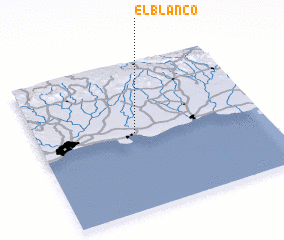 3d view of El Blanco