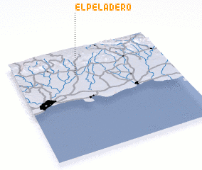 3d view of El Peladero