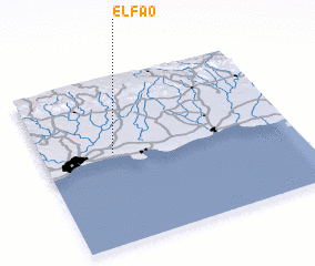 3d view of El Fao