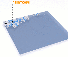 3d view of Perry Cove