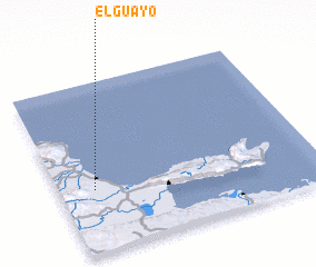 3d view of El Guayo
