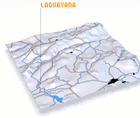 3d view of La Guayana