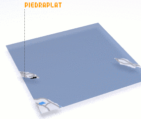 3d view of Piedra Plat