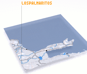 3d view of Los Palmaritos
