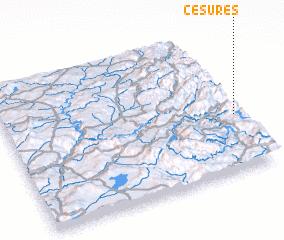 3d view of Cesures