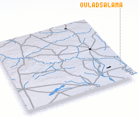 3d view of Oulad Salama