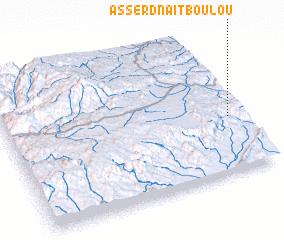 3d view of Asserd n'Aït Boulou
