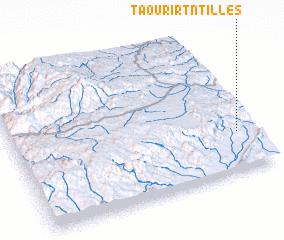 3d view of Taourirt n'Tilles
