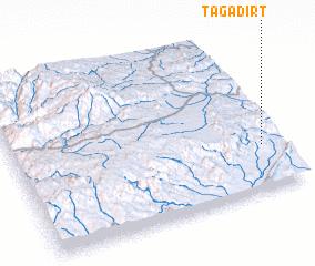 3d view of Tagadirt