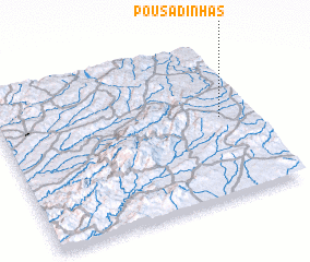 3d view of Pousadinhas