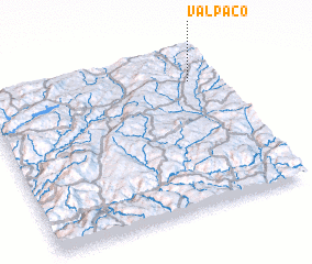 3d view of Valpaço