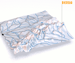 3d view of Berda