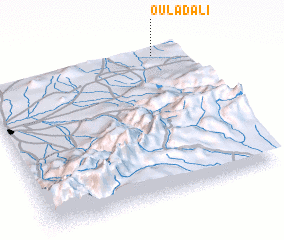 3d view of Oulad Ali