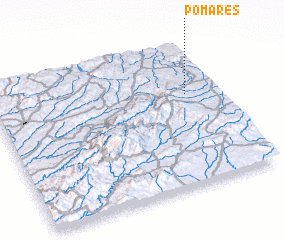3d view of Pomares