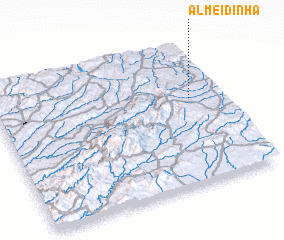 3d view of Almeidinha