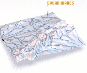 3d view of Douar Khames