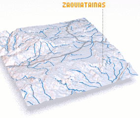 3d view of Zaouiat Aïnas