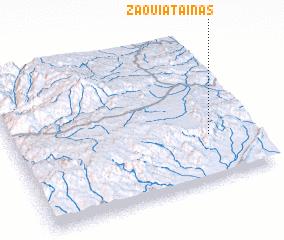 3d view of Zaouiat Aïnas