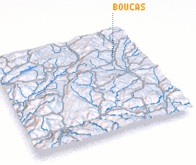 3d view of Bouças
