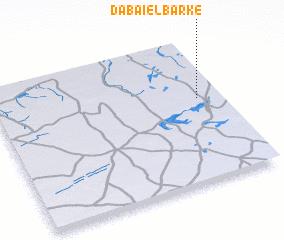 3d view of Dabaï el Barké
