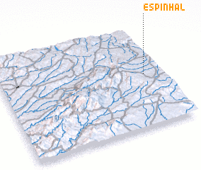 3d view of Espinhal