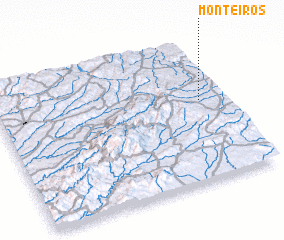 3d view of Monteiros