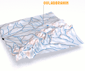 3d view of Oulad Brahim