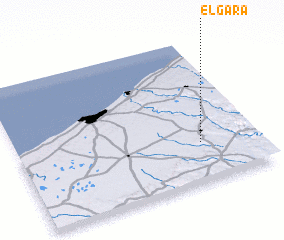 3d view of El Gara