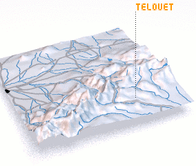 3d view of Telouet