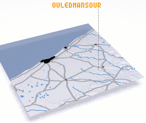 3d view of Ouled Mansour