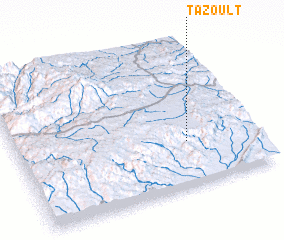 3d view of Tazoult