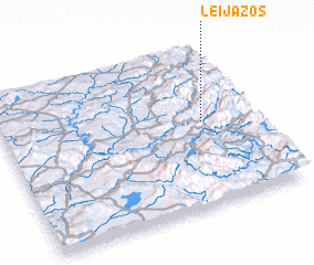 3d view of Leijazós