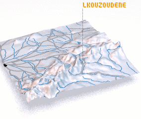 3d view of Lkouzoudene
