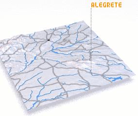 3d view of Alegrete