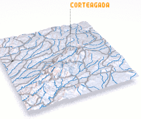 3d view of Corteagada