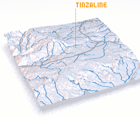 3d view of Tinzaline