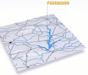 3d view of Ferragudo