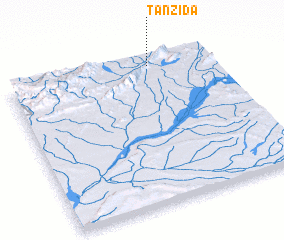 3d view of Tanzida
