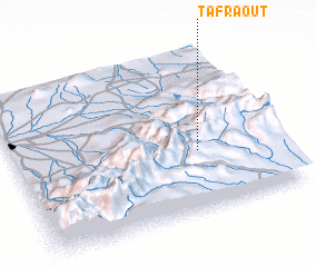 3d view of Tafraout