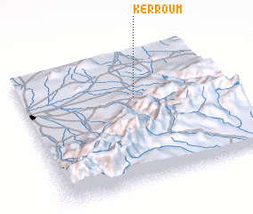 3d view of Kerroum
