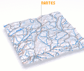 3d view of Nantes