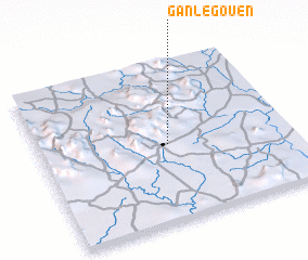 3d view of Ganlégouen
